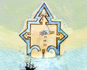 Fort_Elizabeth,_Guyanilla_Bay,_Puerto_Rico,_by_John_White
