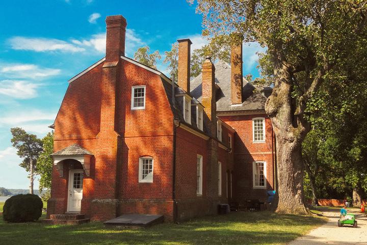 """City Of Richmond Va >> Westover Plantation. TV Drama """"Point of Honor"""" location ..."""