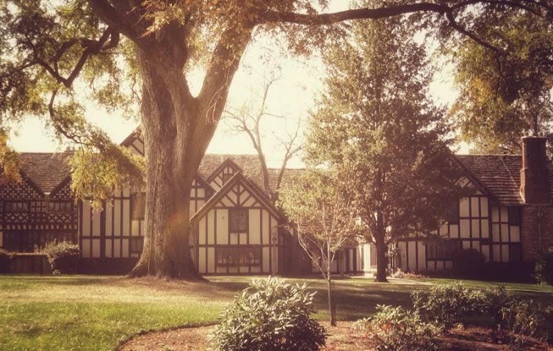 Agecroft Hall is a Tudor manor house