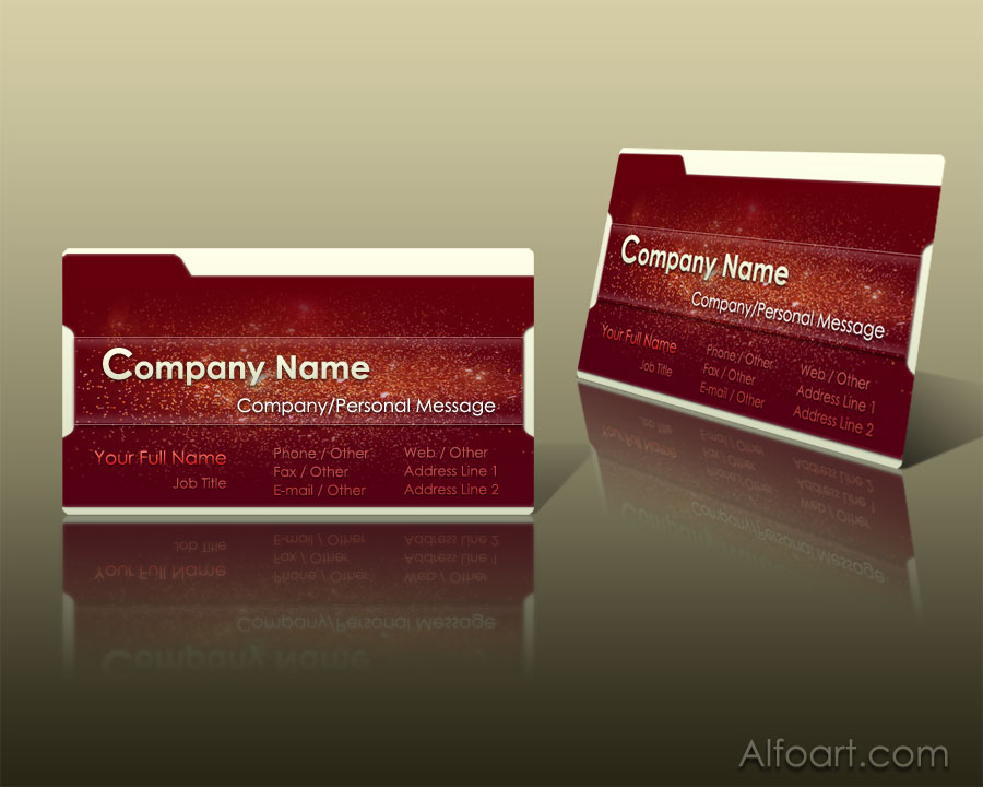 Business card tutorial reheart Gallery