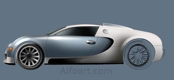 Toyota Corolla Or Bugatti Veyron See The Difference In Adobe Photoshop