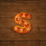 Pizza text effect