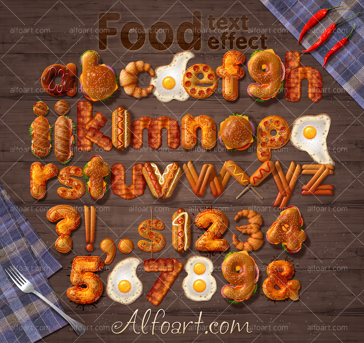 learn how to create 3d fast food text effect this adobe photoshop learn how to create 3d fast food text effect this adobe photoshop tutorial teaches how