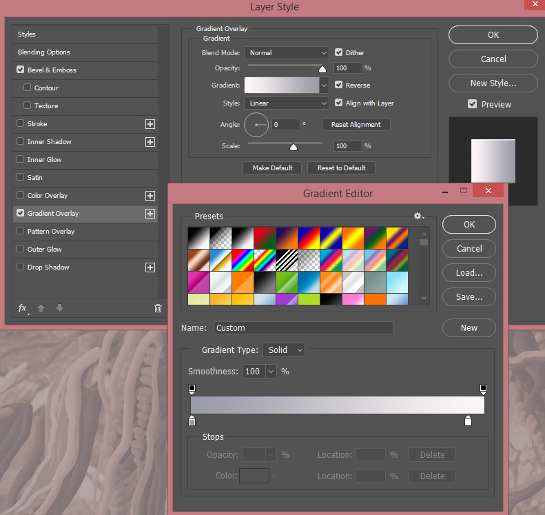 Create Banners and ribbons with the Mixer Brush Tool