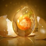 Egg Planet Fantastic globe photo manipulation
