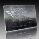 Platinum Credit Card design