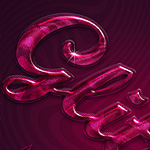 Extremely glossy and shiny text effect, PSD file is available to download