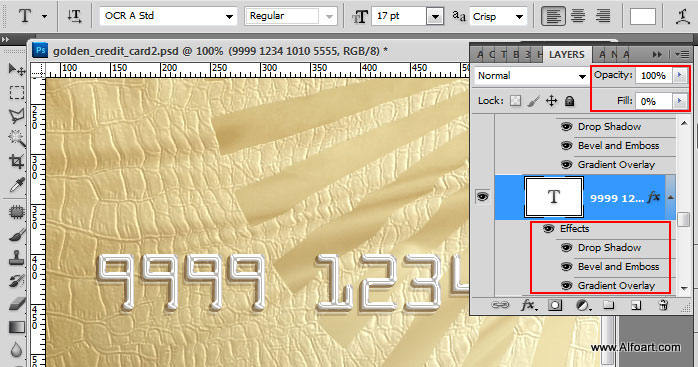 golden style design for the credit loyalty or membership card