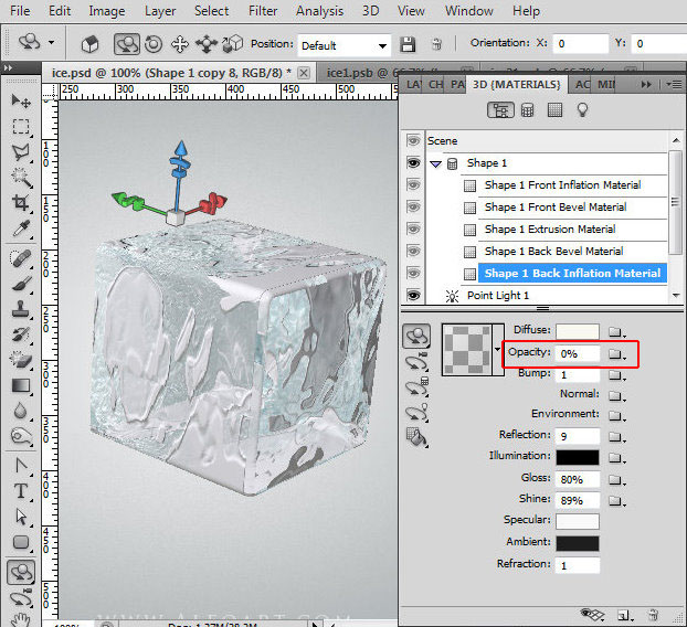 copy 3d layer in photoshop