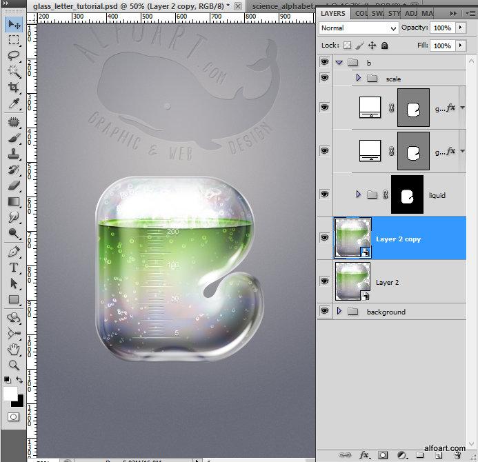 Как в фотошопе сделать стекло