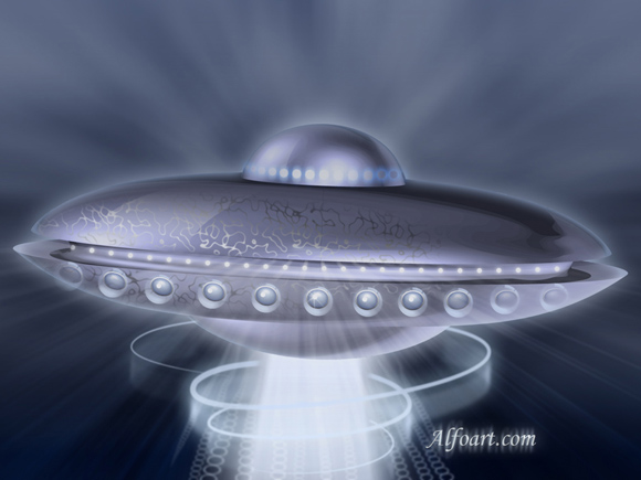 flying saucer tutorial