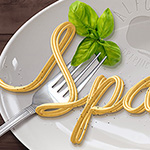 Spaghetti Text Effect.Learn how to create realistic pasta, noodles or spaghetti effect using Mixer Brush Tool. This pretty simple technique may help you to create different tubes, pipes, cords, ropes effects without using 3D software.