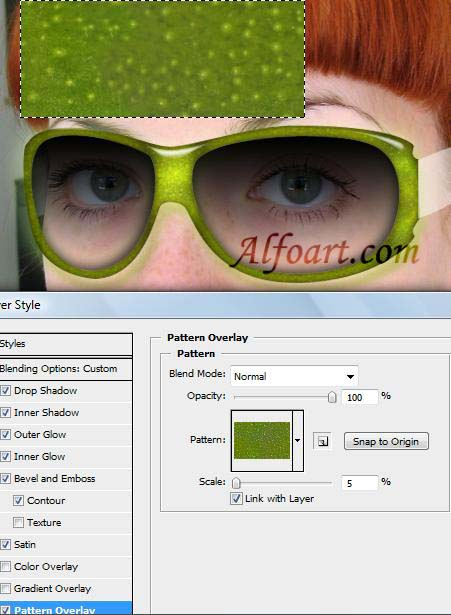 Crazy kiwi sunglasses photoshop tutorial
