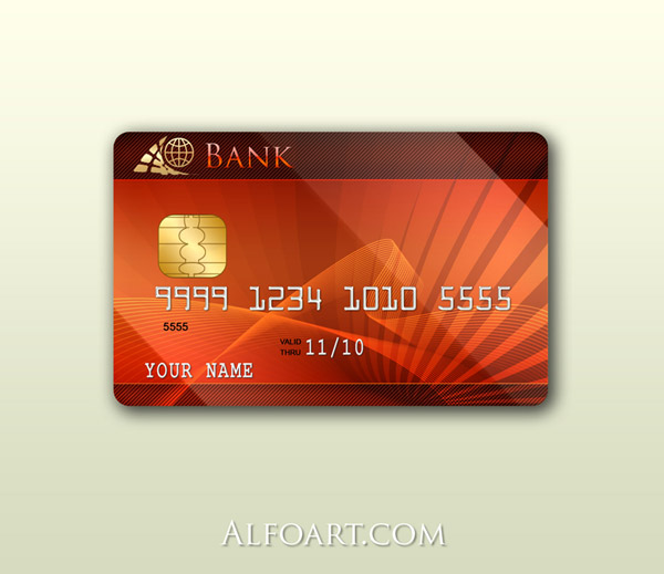 process of making a platinum credit card using photoshop. Black Bedroom Furniture Sets. Home Design Ideas